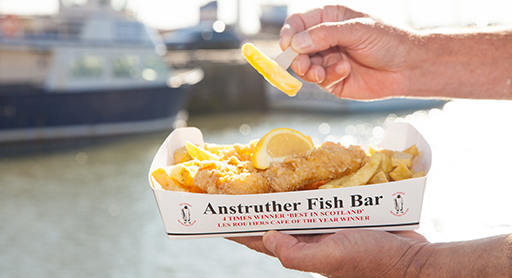 Anstruther Fish Bar and Restaurant holds regular gluten-free events.